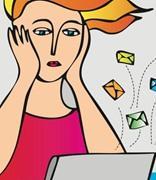堆积的电子邮件会危害健康?英媒教你缓解工作压力