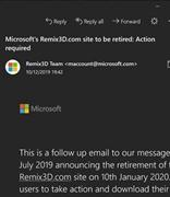 广告重返微软Windows 10桌面版邮箱和日历应用程序