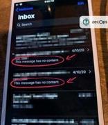 小心你的邮件应用!iPhone又现惊天大Bug,iOS 6以上设备全中招