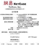 网易披露招股书:6月11日上市 最高募资244.9亿港元