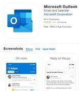 iPhone端Outlook新增Report Junk功能 可报告可疑垃圾/钓鱼邮件