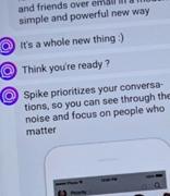 Spike是Google收件箱中的对话电子邮件替代品