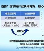 中国信通院发布2020年区块链行业十大趋势