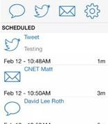 适用于iPhone的更高版本的应用程序会提醒您发送电子邮件