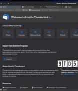 Thunderbird 91版本发布 Mozilla的开源邮件客户端迎来巨大改进
