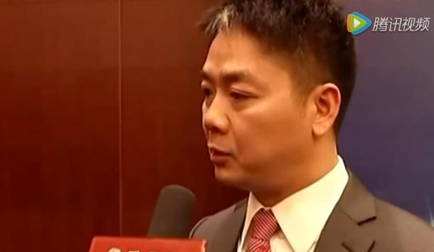 刘强东英文接受采访:我看重品质 所以模式与阿里不同